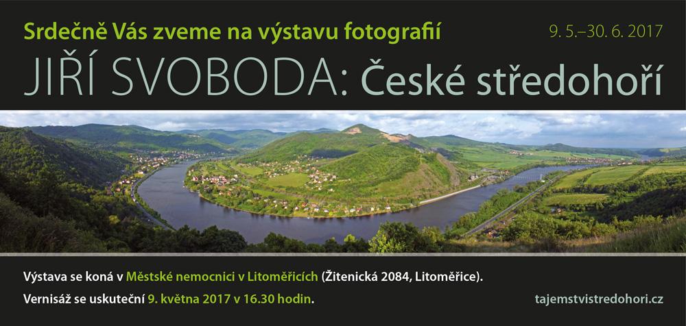 Výstava České středohoří vhale nemocnice